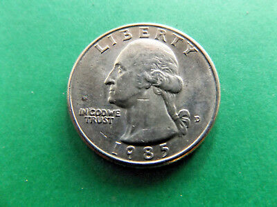 Us 1985 Quarter Dollar