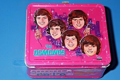 1973 The OSMONDS LUNCHBOX C#8 Donny & Brothers