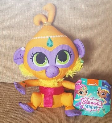 NEW WITH TAGS NICKELODEON SHIMMER /& SHINE MONKEY TALA PLUSH SOFT TOY 7INCH