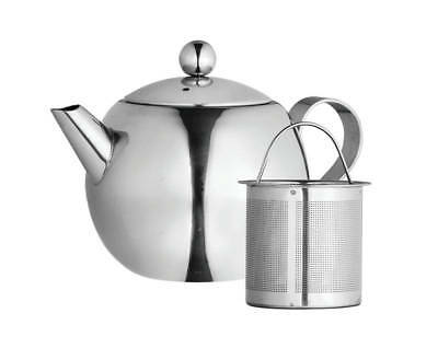 NEW Avanti Nouveau Stainless Steel 900ml Teapot Tea Herbal