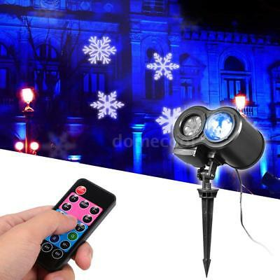 12pcs Slides Water Wave Lamp LED Light Projector Remote Control Light Show Y2O9