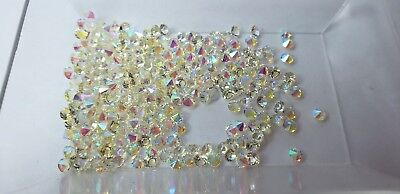 AB Clear 4mm Crystals 10pcs Lot for Origami Owl Floating Charm Lockets US seller