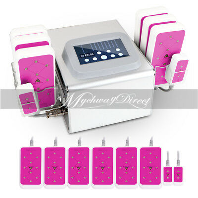 650NM Lipo Laser 5mw Weight Loss Cellulite Slimming Machine 6 Big 2 Small Pads