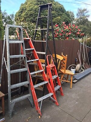 Ladders X 4, Pick Up Newport, Vic 3015