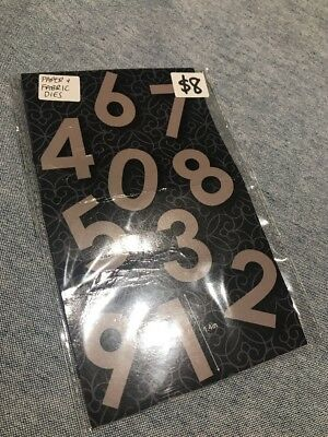Quilt Essentials by Couture Creations - Appliqué Die Cuts - Number Set