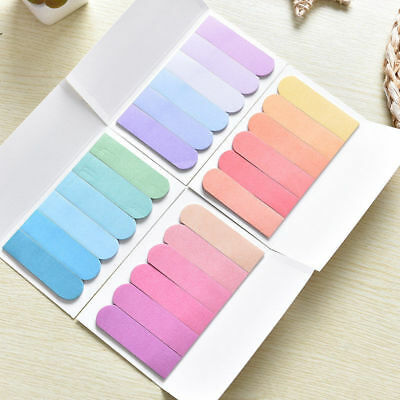 Paper Sticker Notebook Bookmark Marker Memo Pad Sticky Notes Office Flags Tab