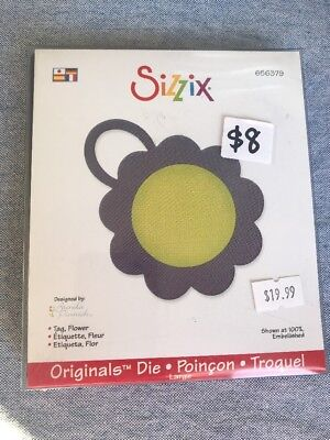 Sizzix - Bigz/Large - 656379 - Tag, Flower - BNIP