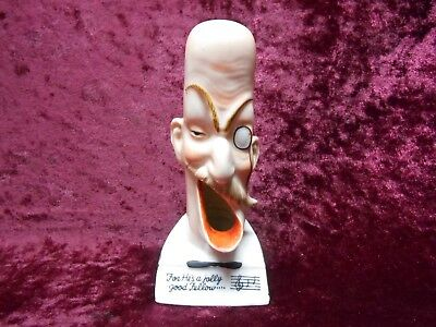 """Vintage Schafer & Vater German Ashtray """"for He's A Jolly Good Fellow"""""""