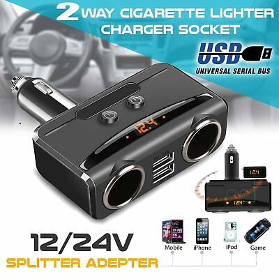 DC-12V-Car-Cigarette-Lighter-Adapter-2-Way-Double-Plug-Socket-Charger-Splitter