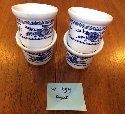 Johnson Brothers Indies China 4 Egg Cups