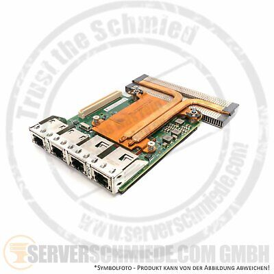 Dell Intel X540 2x 10GbE Base-T2 Quad Port 2x 1GbE Ethernet Network Daughter Car