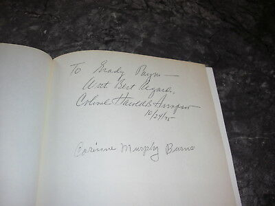 SIGNED by AUTHOR and SISTER AUDIE MURPHY, AMERICAN SOLDIER by HAROLD SIMPSON
