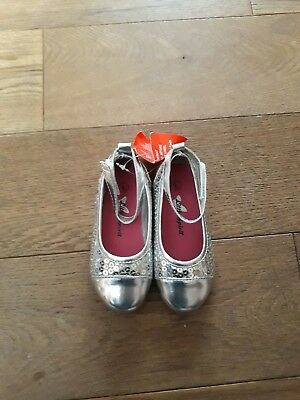 baby girls sequin shoes size 5 bnib