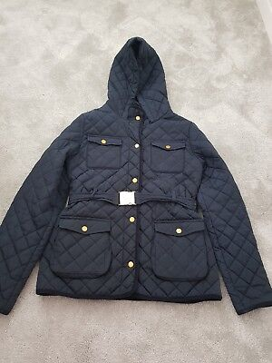 Marks & Spencers Navy Blue School Jacket Age 13- 14 Years