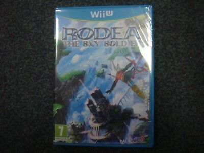 WII U RODEA The SKY SOLDIER New & Sealed PAL UK English Version