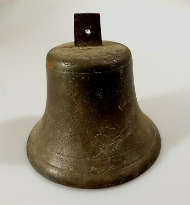 Antique Bronze Ships Bell