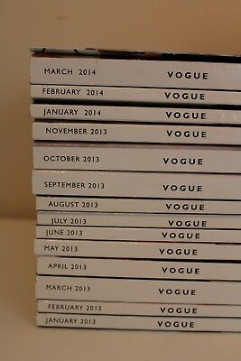 Vogue, Vanity Fair, Rolling Stone magazine lot (SEPTEMBER VOGUE)