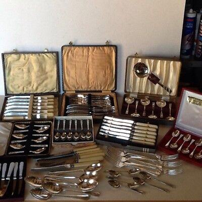 Vintage Cutlery Job Lot