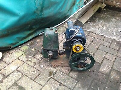 lister water pump runs but needs new rubbers .Electric