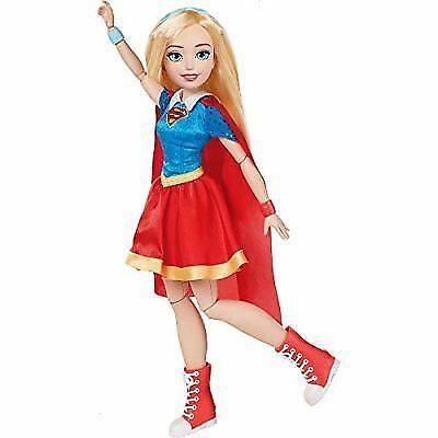 Dc Super Hero Comics Supergirl Action Pose Figure Doll Girls Toy 18''