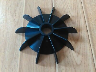 Plastic Cooling Fan Replacement Electric Motor Impeller Bore 29 mm 1 peace