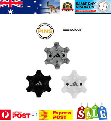 Pack Spikes/Cleats PINS SYSTEM for Adidas, Footjoy & Puma (see chart) AU seller