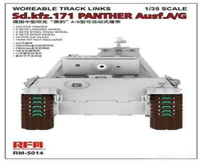 Rye Field Model RFM RM-5014 1//35 Workable Track for Sd.kfz.171 Panther Ausf.A//G