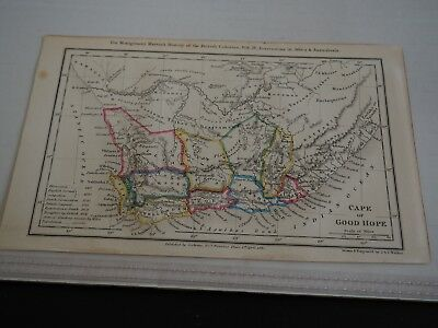 Antique Map Cape of Good Hope J & C Walker