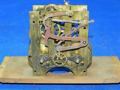 Antique Vintage Wall Mantle Mantel Shelf Parlor Clock Movement