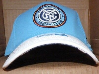 buy popular fb2f3 968fa NEW MLS ADIDAS NY New York City FC Soccer Hat Cap Youth Boys NEW NWT