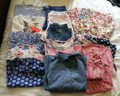 *girls Clothes Bundle (14 Items)*age: 9-10 Years* Dresses* Shorts*tops*playsuit*