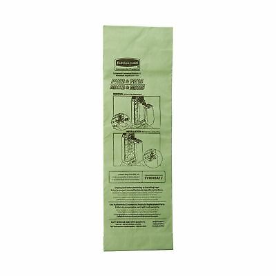 Rubbermaid Commercial Upright Vacuum Cleaner Replacement Bag, FG9VMHBA12 (Pac...