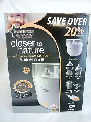 Tommee Tippee Closer To Nature Electric Steam Steriliser    #cr#