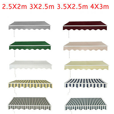 NEW Awning Canopy Outdoor Patio Garden Sun Shade Shelter Replacement Top Fabric