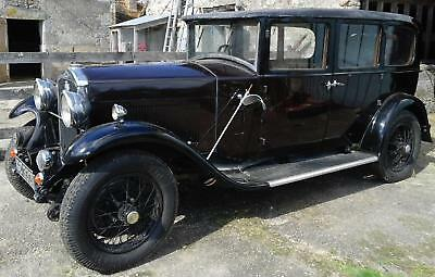 1930 Humber 16/50 Saloon - Substantial And Costly Restoration !!