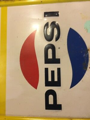 Old Pepsi Sign With Thermometer
