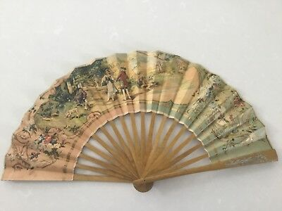 Antique Paper Hand Fan