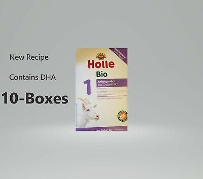 (10 PACK)-Holle Organic Goat Milk Formula Stage 1 400g  Free Shipping EXP-9/2020