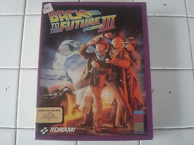 Back to the Future Part III For Commodore Amiga, NEW FACTORY SEALED, Konami
