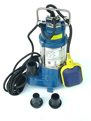 Chm Gmbh Dirty-Water Pump Waste 180Watt Submersible Stainless Steel 7980 L/H