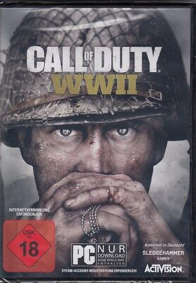 Call of Duty: WWII / WW2 / PC - World War 2 - NEU & OVP - Deutsche Version