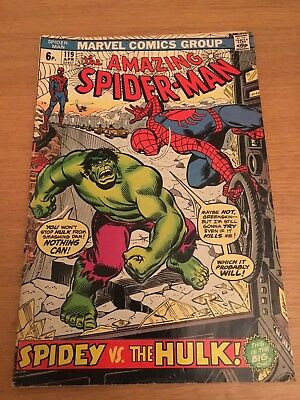 THE AMAZING SPIDER-MAN #119 - The Incredible Hulk