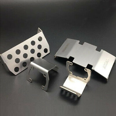 Protector COOL Front + Axle + Chassis Skid Plate For 1/10 AXIAL SCX10 II 90046