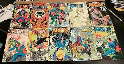 ARION Lord of Atlantis #1-35 +Immortal Special Annual Set Lot (40) DC 1982-92 VF