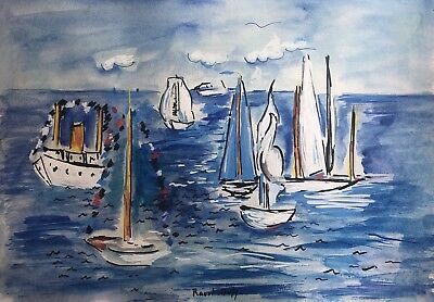 Raoul Dufy Painting