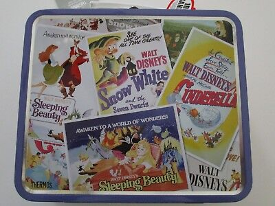 Classic Disney Princess TIN Lunch BOX Collector Collection New
