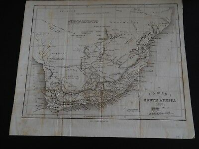 "Antique Map ""A Map of South Africa 1832"""