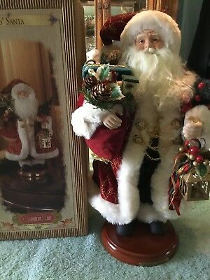 Old World Santa Grandeur Noel 16 Inch Tall  #4