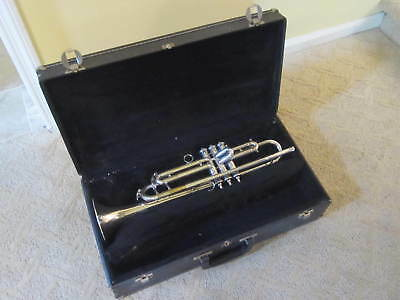 Vintage Silver Peashooter Bb A Trumpet Bohland & Fuchs Reconditioned Plays
