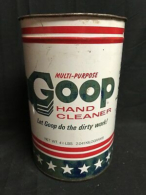 Goop Hand Cleaner 4 1/2 Pounds Metal Can